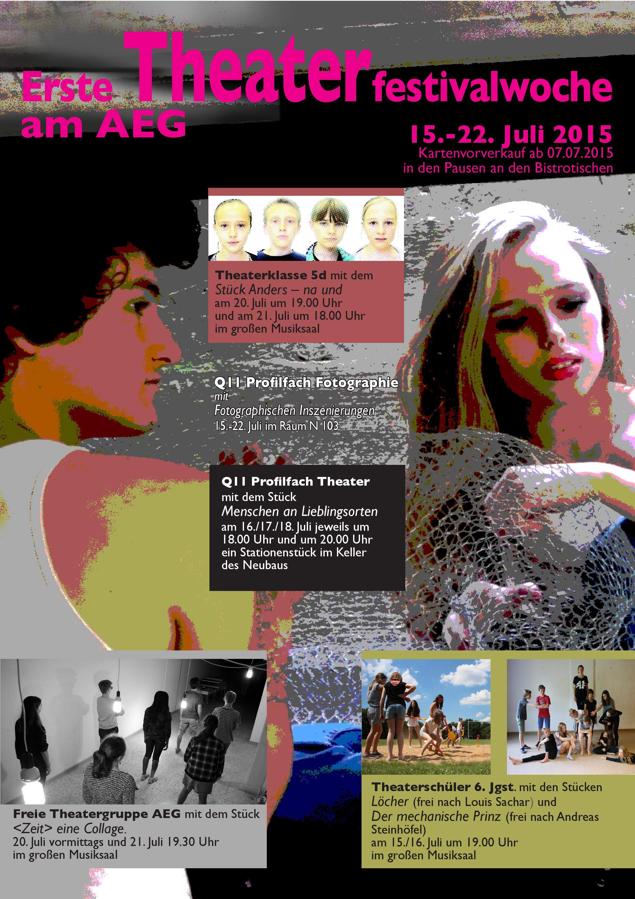 Theaterfestival 2015 - Plakat